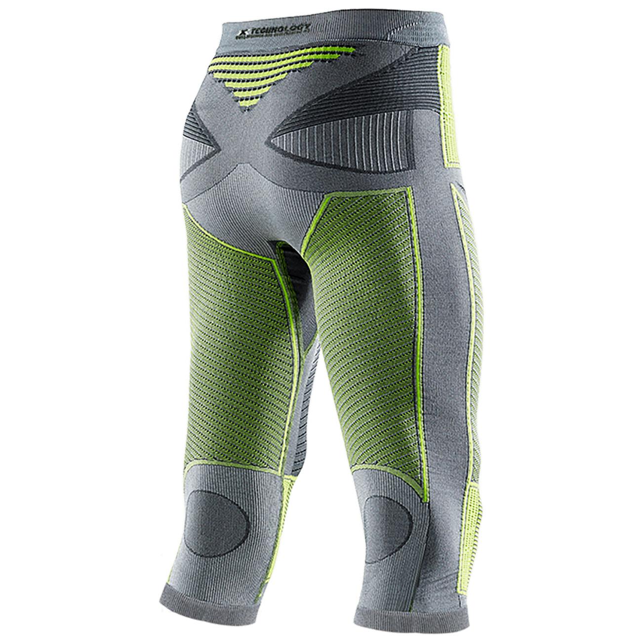 Фото 2 - Мужские термокальсоны средней длины  X-Bionic®  Radiactor™ EVO Medium, Цвет: Iron/Yellow