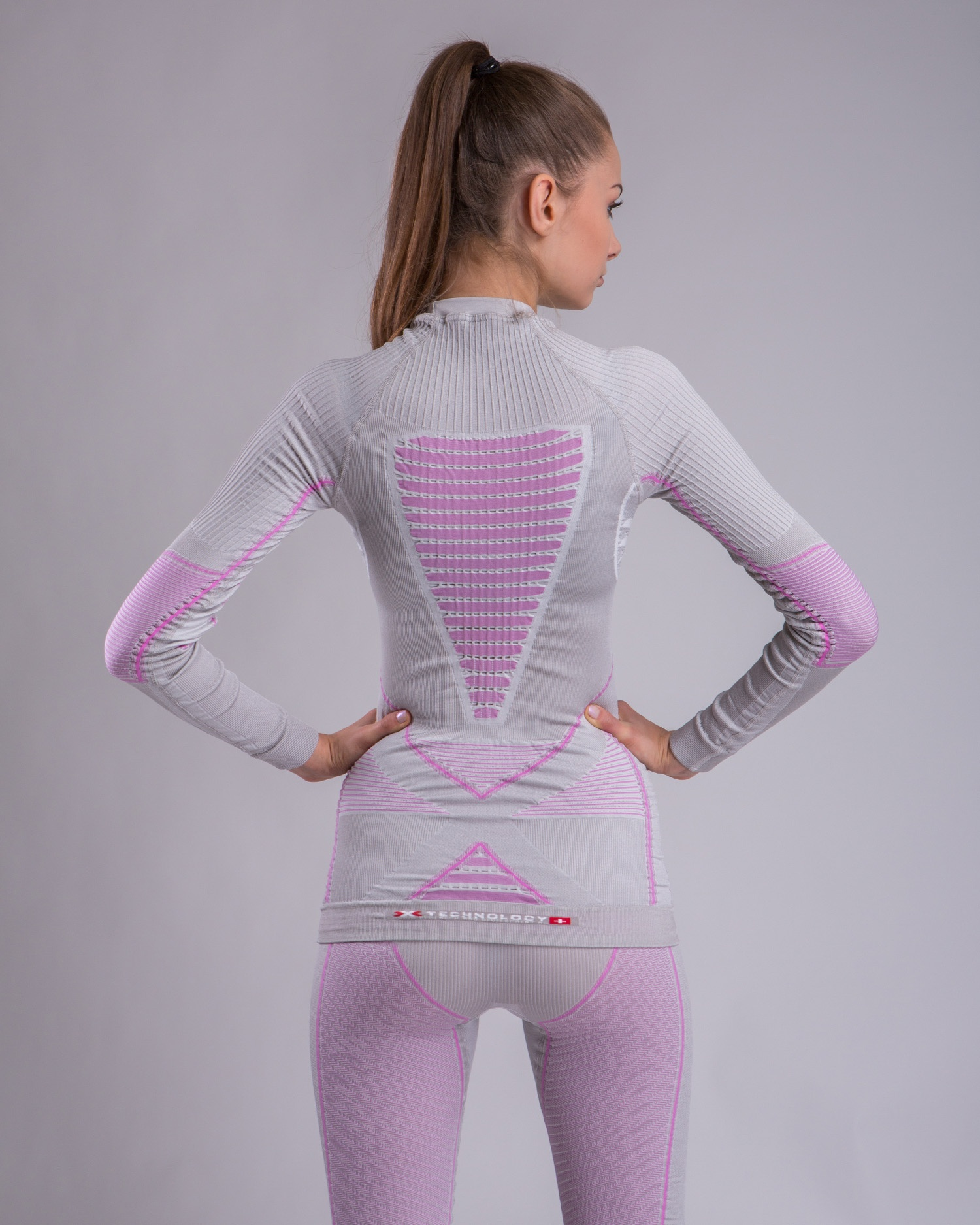 Фото 4 - Женская терморубашка X-Bionic® Radiactor™ EVO Roundneck