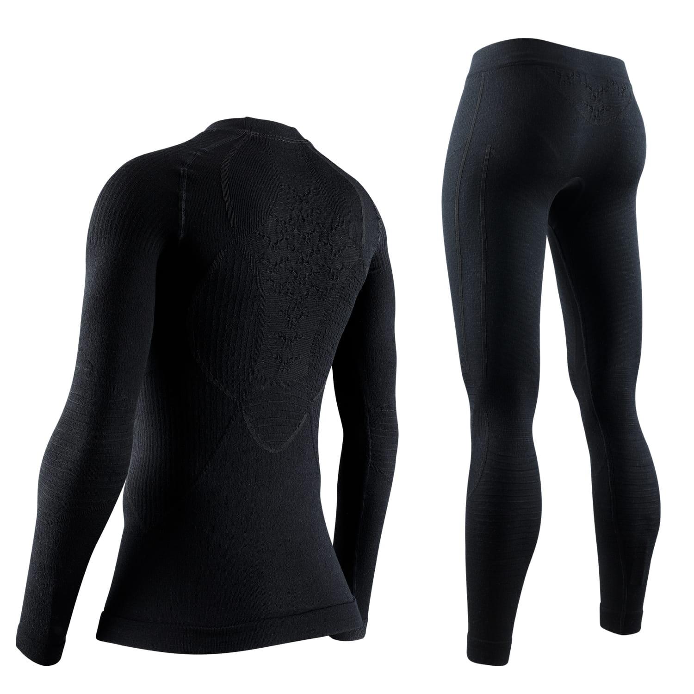 Фото 2 -  Женский комплект X-BIONIC® Apani® Merino, Цвет: Black/Black