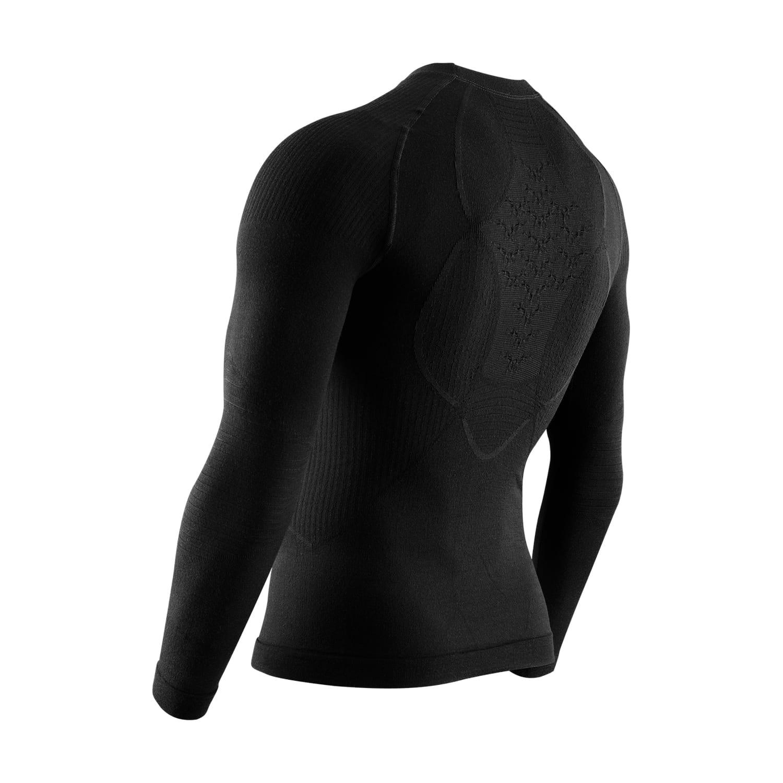 Фото 2 - Мужская терморубашка X-BIONIC® Apani® Merino 4.0, Цвет: Black/Black