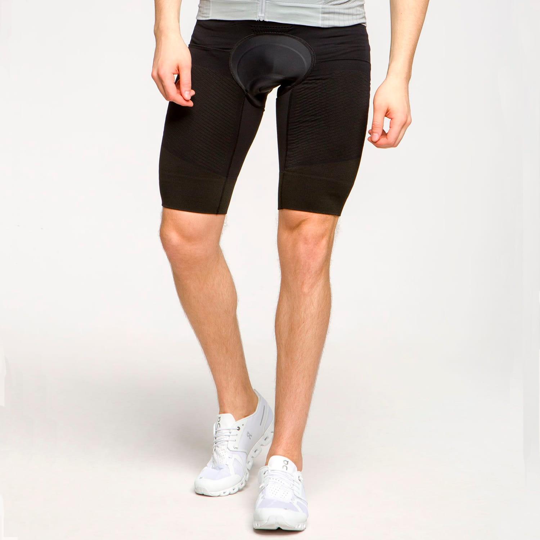 Фото 3 - Мужские велошорты X-Bionic® Effektor 4.0 Cycling, Цвет: Opal Black/Artic White