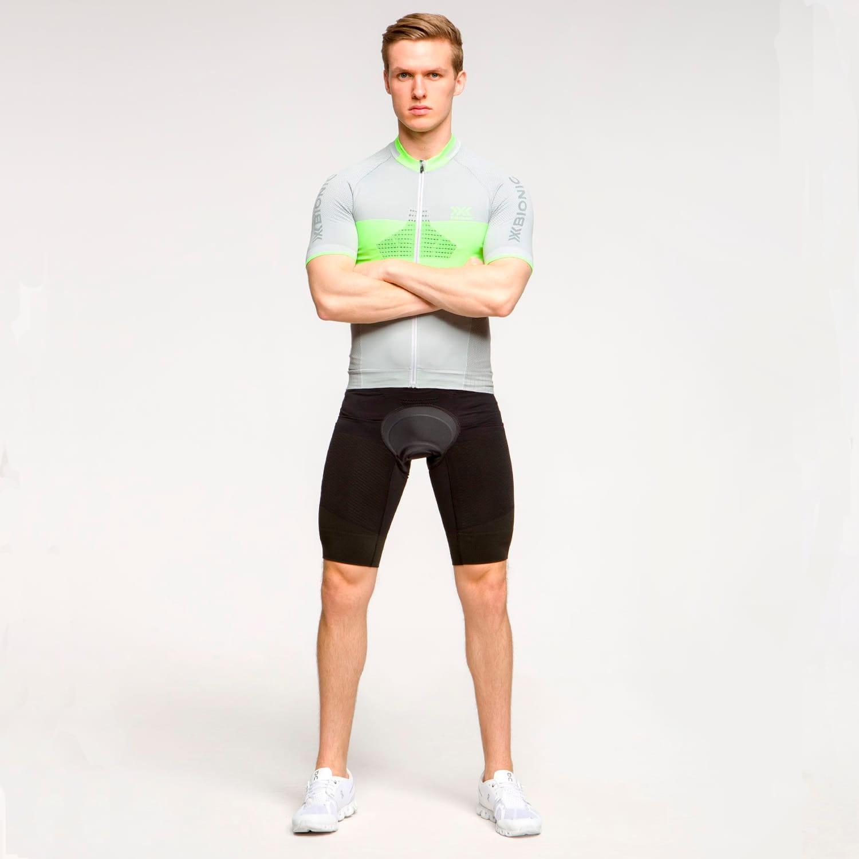 Фото 7 - Мужские велошорты X-Bionic® Effektor 4.0 Cycling, Цвет: Opal Black/Artic White