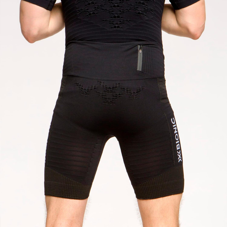 Фото 4 - Мужские короткие тайтсы X-Bionic® Effektor 4.0 Running, Цвет: Opal Black / Arctic White