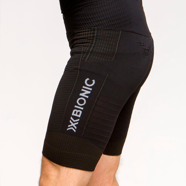 Фото 5 - Мужские короткие тайтсы X-Bionic® Effektor 4.0 Running, Цвет: Opal Black / Arctic White