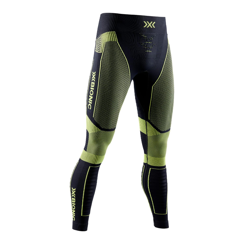 Фото 1 - Мужские тайтсы X-BIONIC® Effektor 4.0 Running, Цвет: Opal Black/Effektor Green