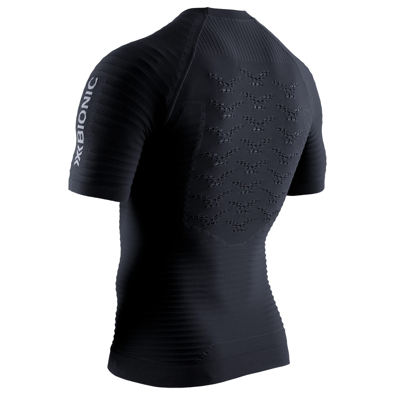 Фото 2 - Мужская футболка X-Bionic® Effektor 4.0 Running, Цвет: Opal Black / Arctic White