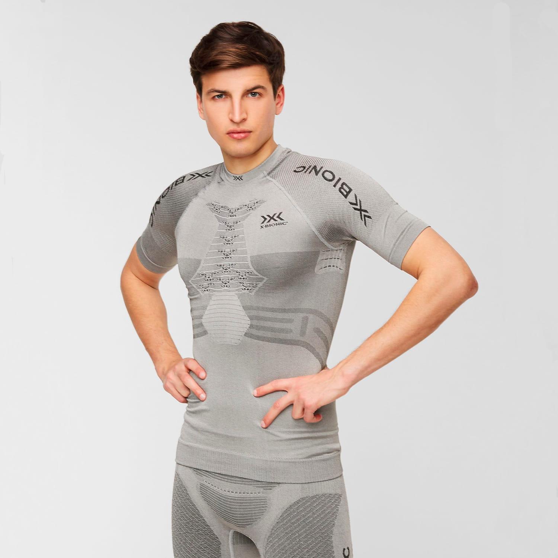 Фото 3 - Мужская футболка X-BIONIC® Fennec 4.0, Цвет: G051 – Anthracite/Silver