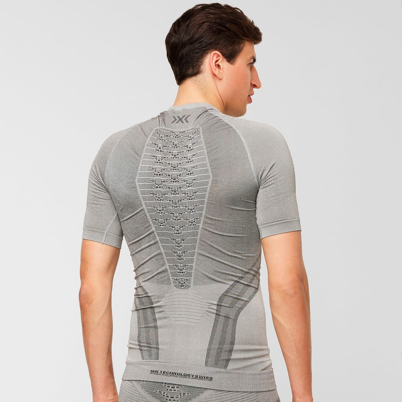 Фото 4 - Мужская футболка X-BIONIC® Fennec 4.0, Цвет: G051 – Anthracite/Silver