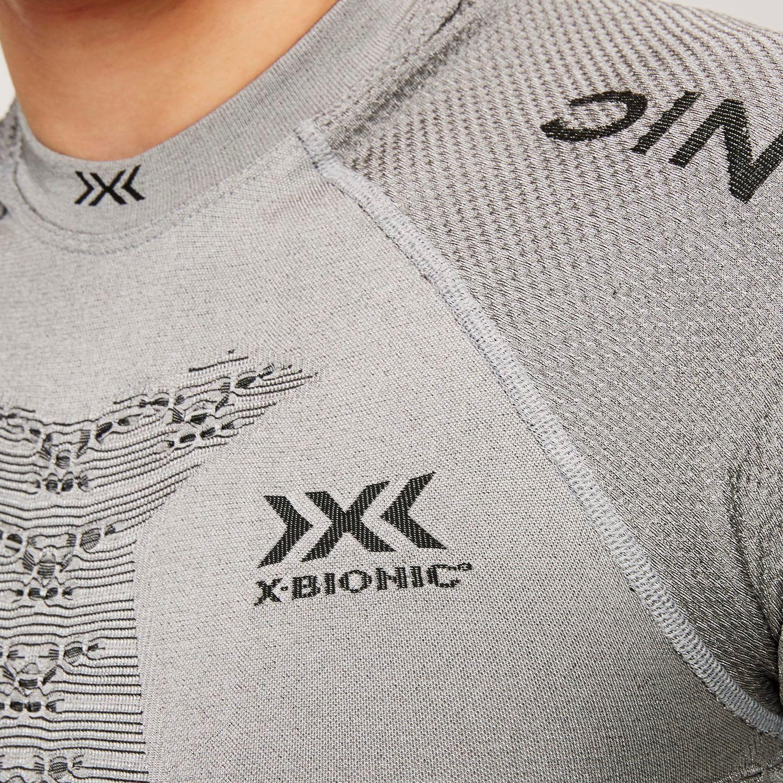 Фото 5 - Мужская футболка X-BIONIC® Fennec 4.0, Цвет: G051 – Anthracite/Silver