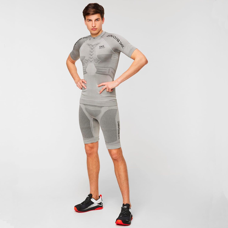 Фото 7 - Мужские шорты X-BIONIC® Fennec 4.0, Цвет: G051 – Anthracite/Silver