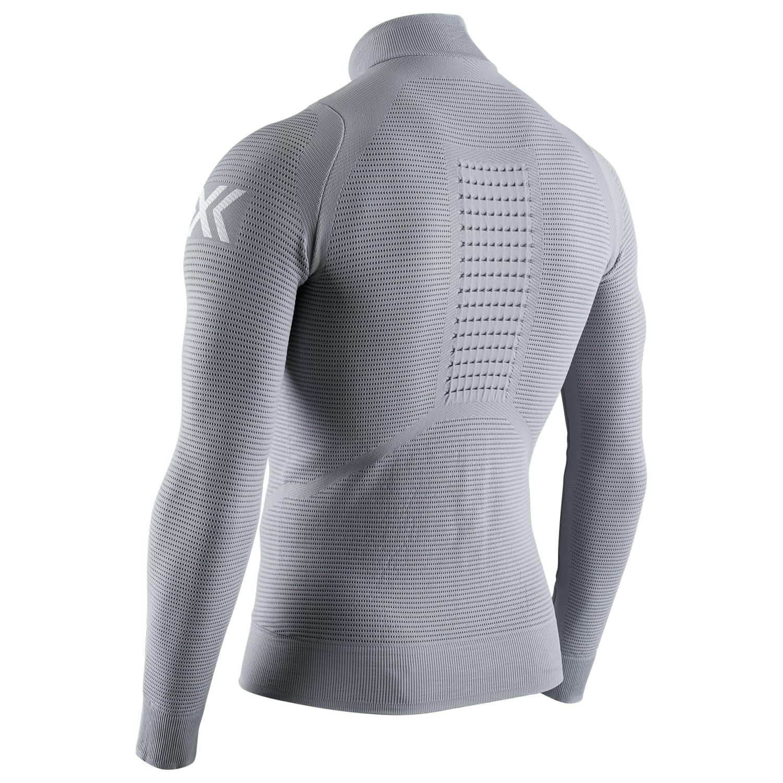 Фото 2 - Мужской флис X-Bionic® Instructor, Цвет: G011 – Dolomite Grey/Arctic White