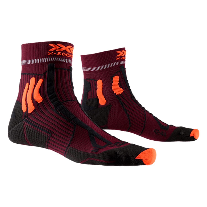 Фото 1 - Носки X-Socks® Trail Run Energy, Цвет: Sunset Orange / Opal Black