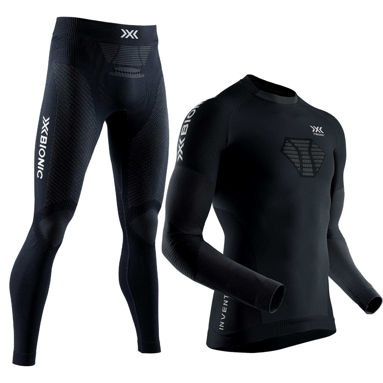 Фото 1 - Мужской комплект X-BIONIC® Invent®4.0 Run Speed, Цвет: Black/Charcoal