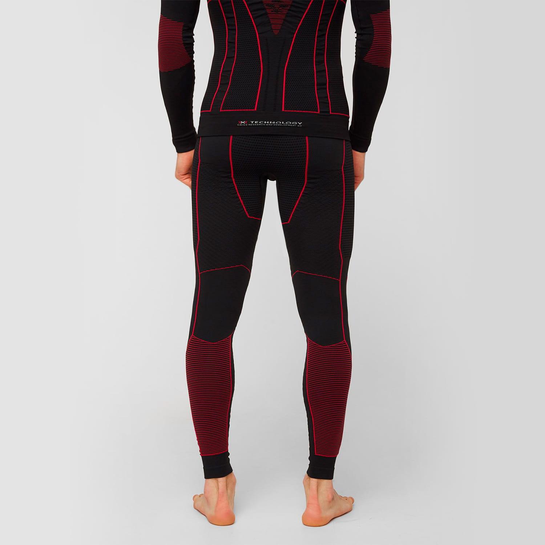 Фото 4 - Мужские термокальсоны X-Bionic® Moto Energizer ® 4.0, Цвет: Opal Black/Signal Red