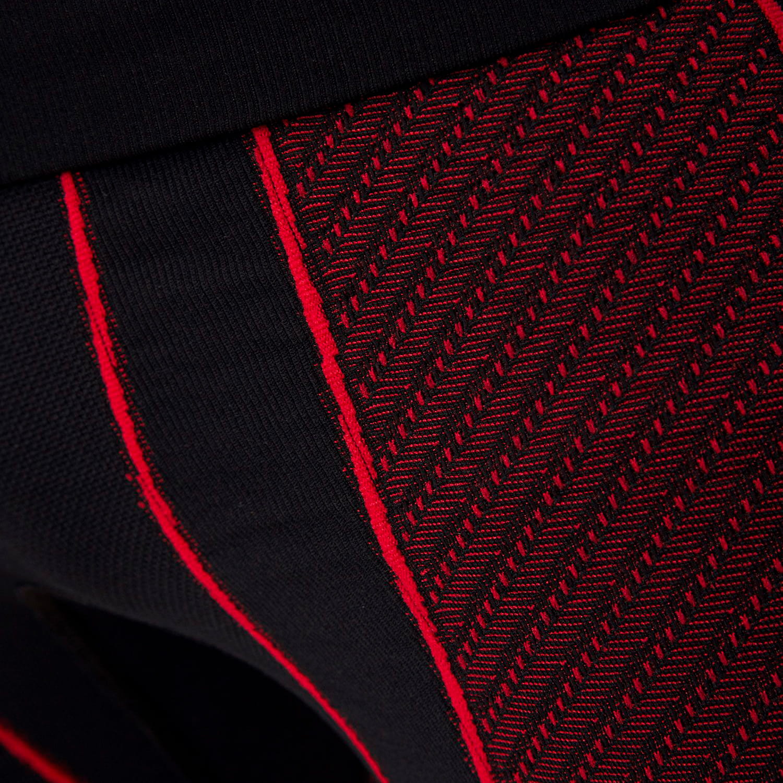 Фото 7 - Мужские термокальсоны X-Bionic® Moto Energizer ® 4.0, Цвет: Opal Black/Signal Red
