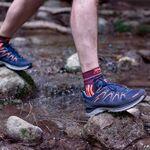 Фото 2 - Носки X-Socks® Trail Run Energy, Цвет: Sunset Orange / Opal Black