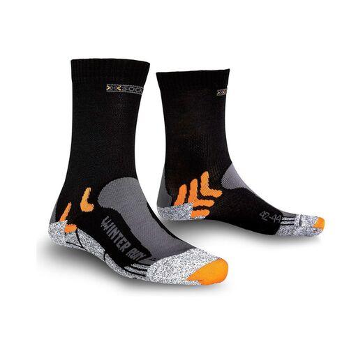 Фото 1 - Мужские носки X-Socks® Winter Run Silver, Цвет: Black