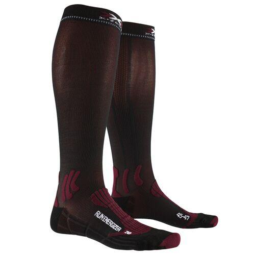 Фото 1 – Носки X-Socks® Run Energizer, Цвет: Dark Ruby / Opal Black