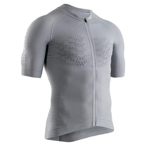 Фото 1 - Мужская велофутболка X-Bionic® Effektor 4.0 Cycling, Цвет: Dolomite Grey/Arctic White